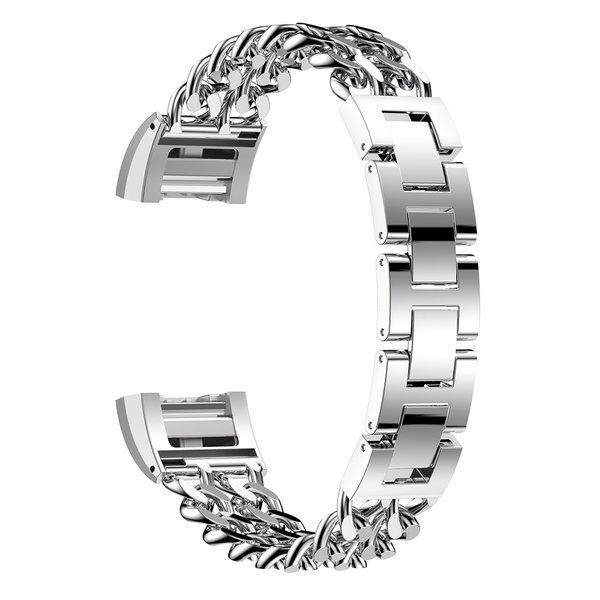 123Watches Fitbit charge 3 & 4 cowboy échantillons lien - argent