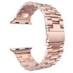 123Watches.nl Apple watch 3 Perlen Gliederband - Roségold