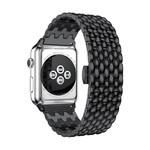 123Watches Apple watch Drache Gliederband - schwarz
