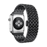 123Watches Apple watch dragon steel link - black