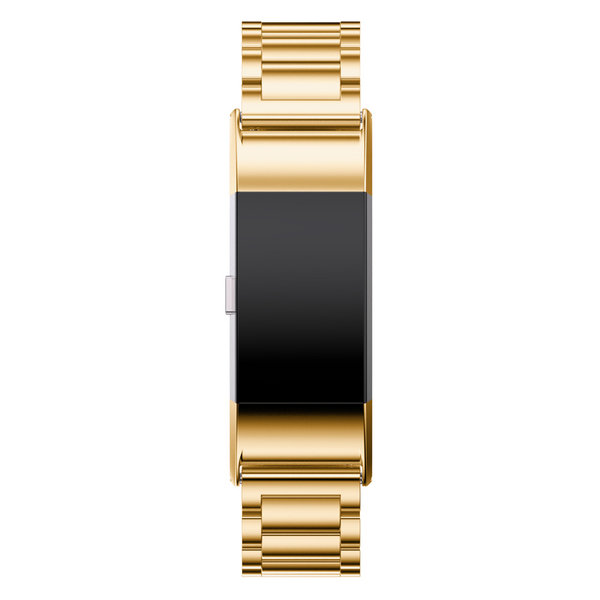 123Watches.nl Fitbit charge 2 3 Perlen Gliederband - gold