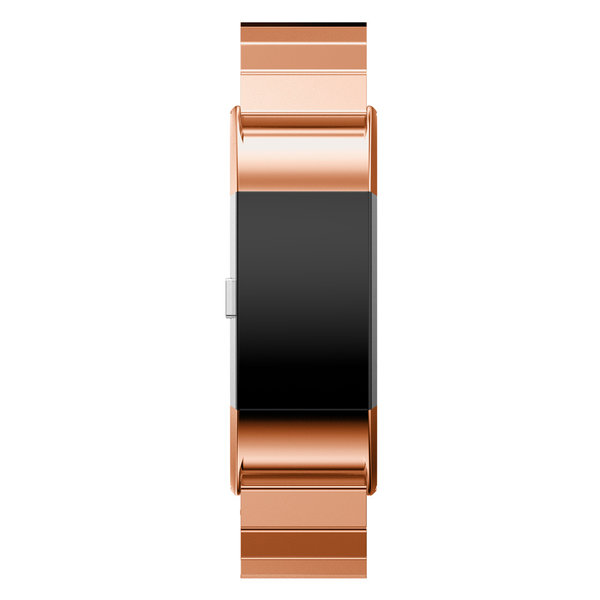 123Watches.nl Fitbit charge 2 steel link - rose gold