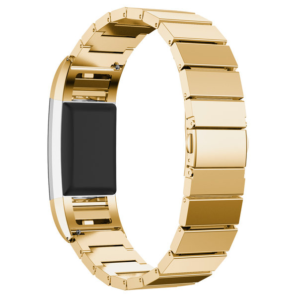 123Watches Fitbit charge 2 steel link - gold