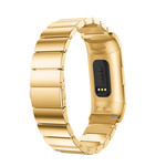 123Watches Fitbit charge 3 & 4 Gliederband - gold