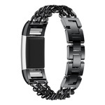 123Watches Fitbit charge 2 cowboy steel link - black
