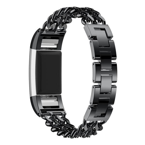123Watches Fitbit charge 2 cowboy échantillons lien - noir