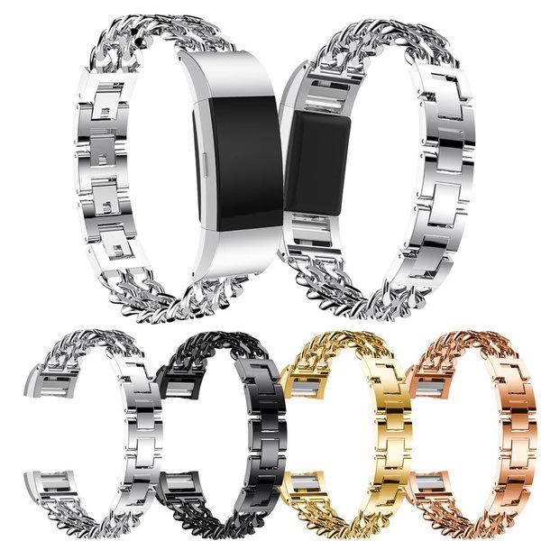 123Watches Fitbit charge 2 cowboy échantillons lien - or rose