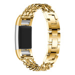 123Watches.nl Fitbit charge 2 cowboy steel link - gold