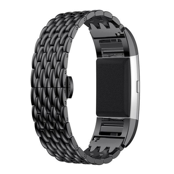 123Watches Fitbit charge 3 & 4 dragon échantillons lien - noir