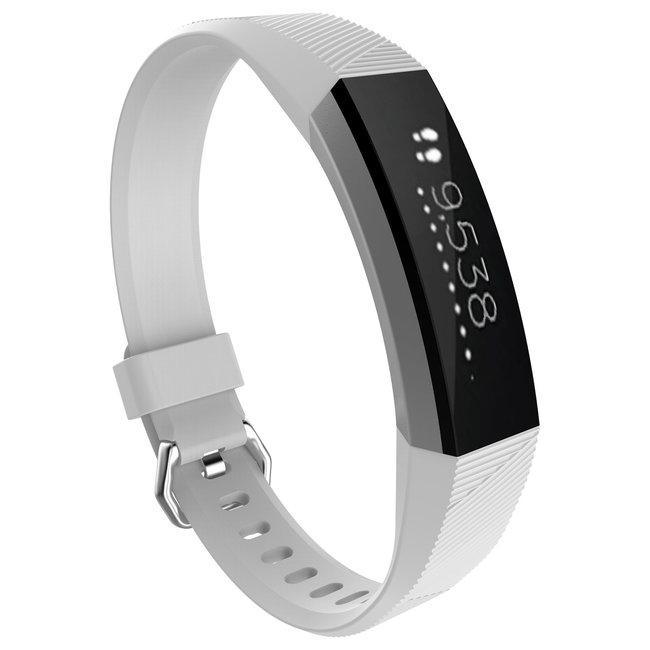 Merk 123watches Fitbit Alta sport band - wit