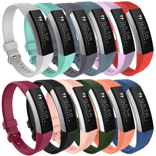 123Watches Fitbit Alta sport band - white