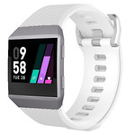 123Watches Fitbit Ionic sport band - wit