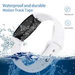 123Watches Fitbit Inspire sport silicone band - wit