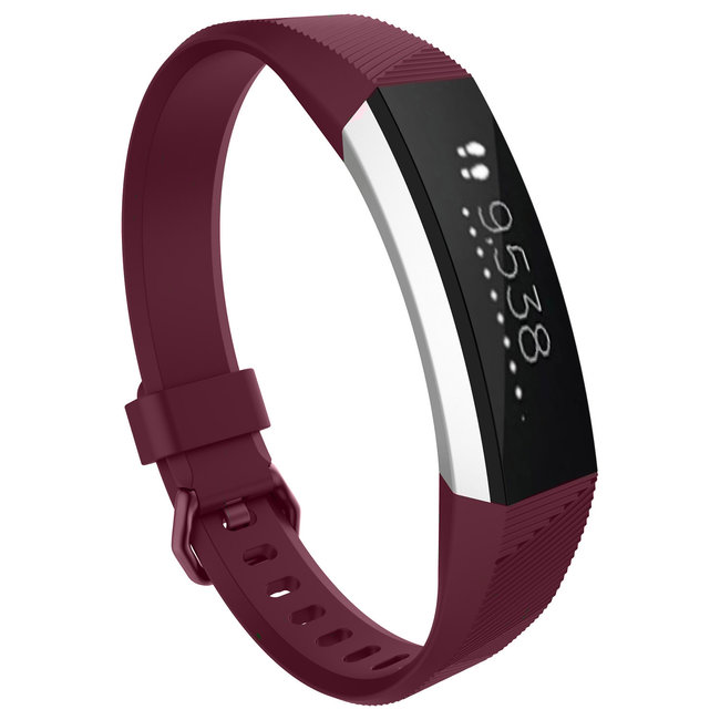 Merk 123watches Fitbit Alta sport band - rose rood
