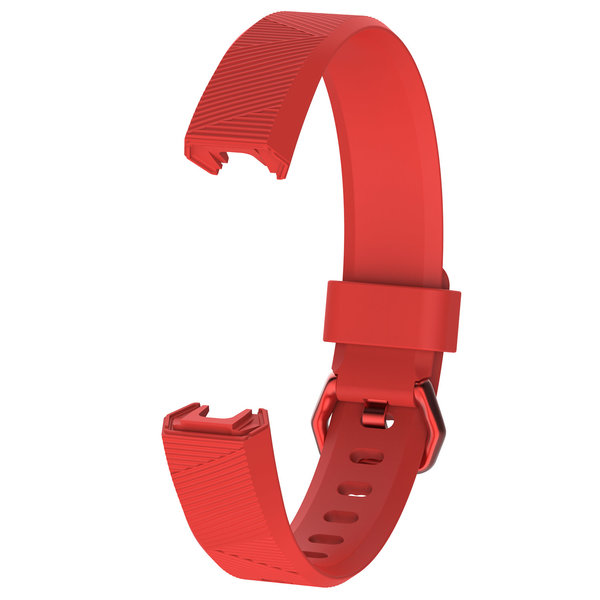123Watches Fitbit Alta sport band - rood