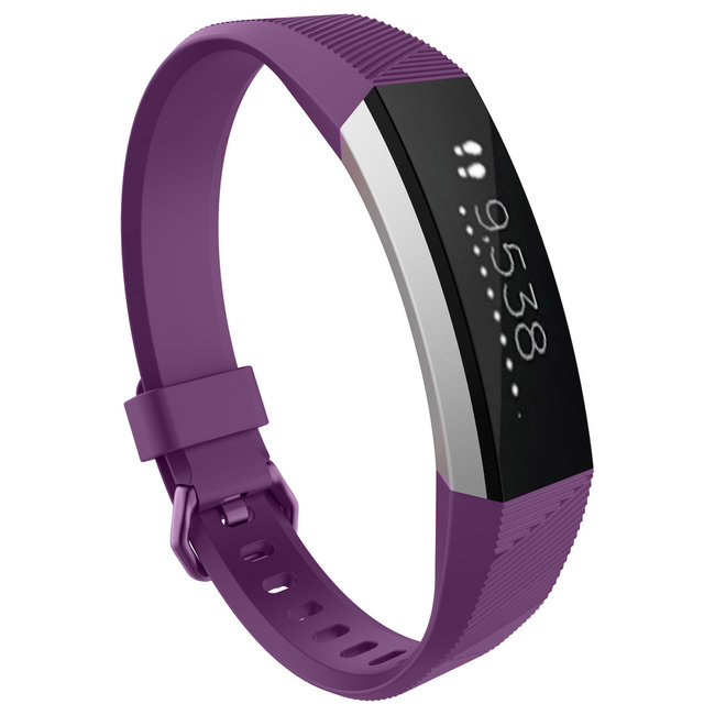 Merk 123watches Fitbit Alta sport band - purple