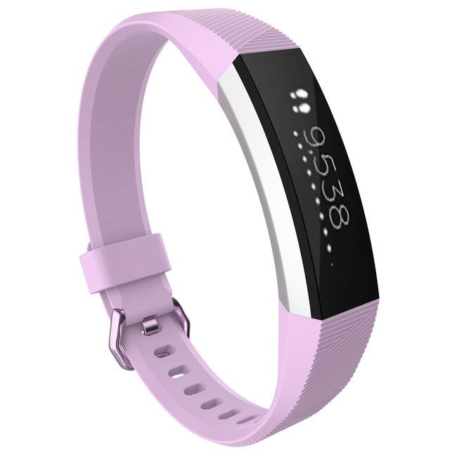 Merk 123watches Fitbit Alta sport band - lavendel
