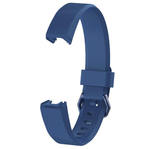 123Watches.nl Fitbit Alta sport sangle - bleu foncé