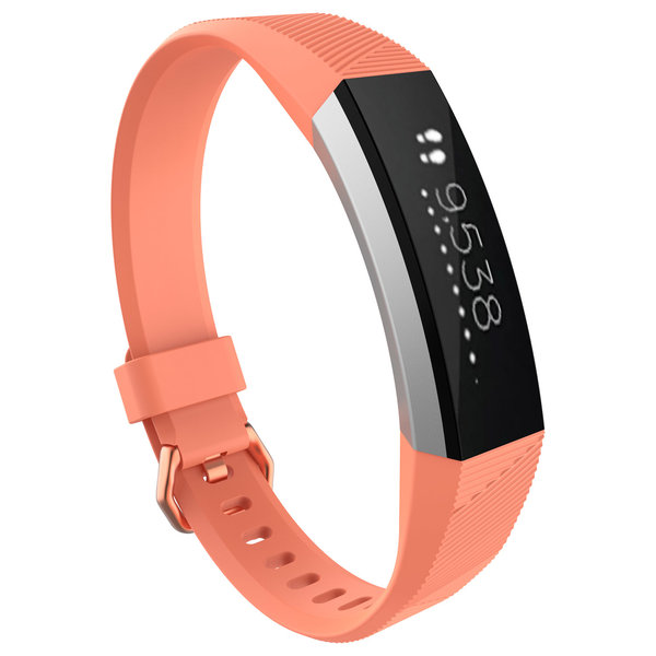 123Watches Fitbit Alta sport band - coral