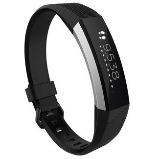 Merk 123watches Fitbit Alta sport band - zwart