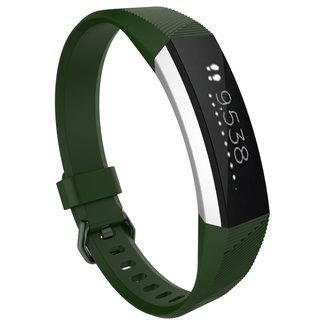 Merk 123watches Fitbit Alta sport band - leger groen
