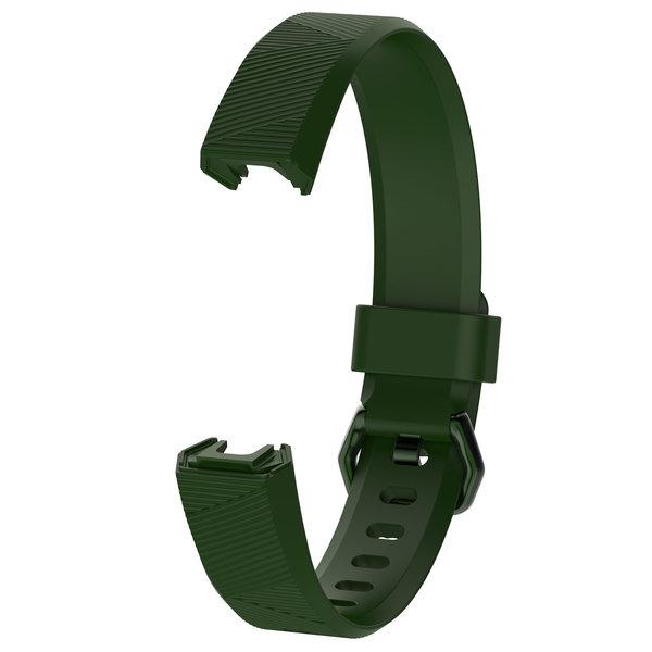 123Watches Fitbit Alta sport band - leger groen