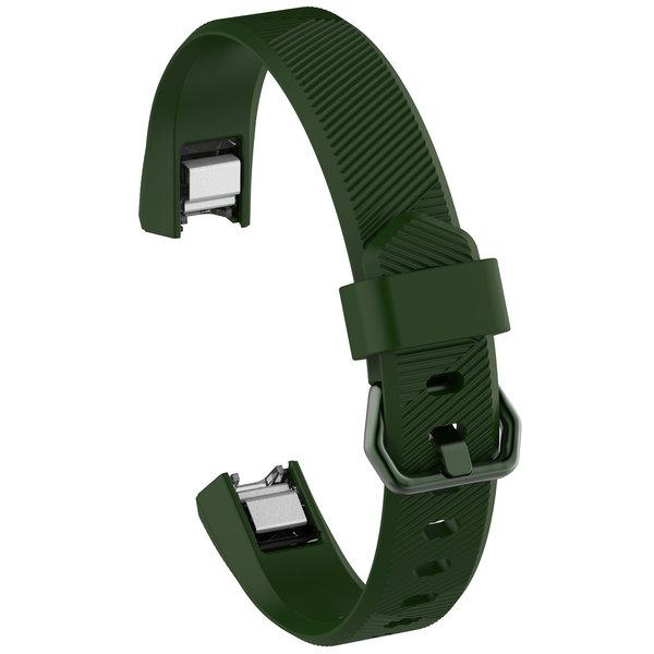 123Watches Fitbit Alta sport sangle - vert armée