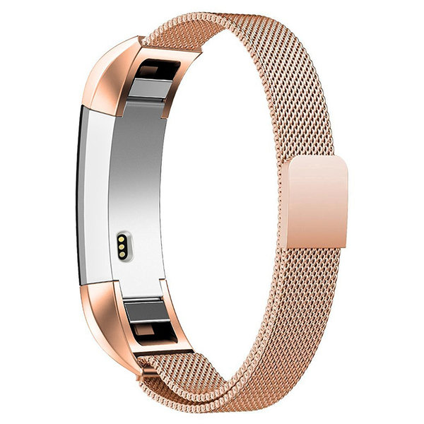 123Watches Fitbit Alta milanese band - or rose