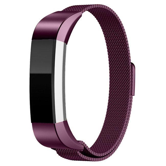 Merk 123watches Fitbit Alta milanese band - purple