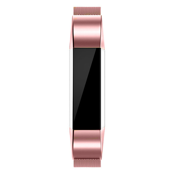 123Watches Fitbit Alta milanese band - rose
