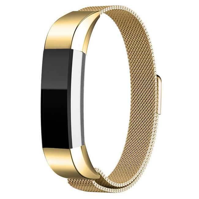 Merk 123watches Fitbit Alta milanese band - gold