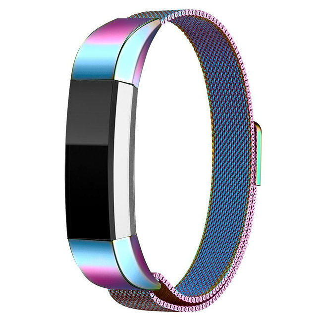 Merk 123watches Fitbit Alta milanese band - colorful