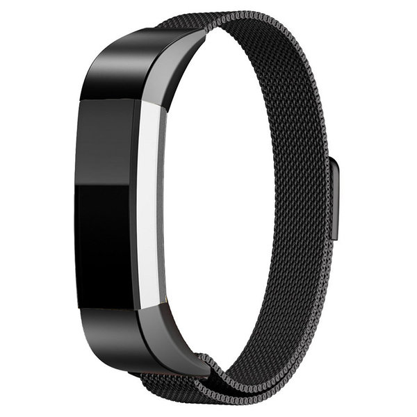 123Watches Fitbit Alta milanese band - black