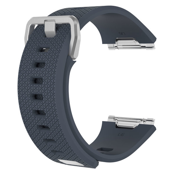 123Watches.nl Fitbit Ionic sport band - Schiefer