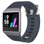 123Watches.nl Fitbit Ionic sport sangle - ardoise