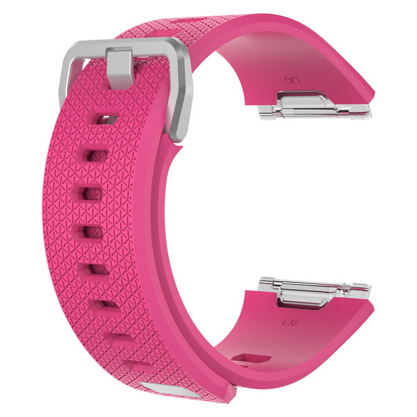 123Watches.nl Fitbit Ionic sport sangle - rose