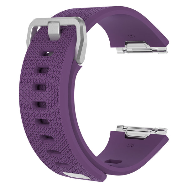 123Watches Fitbit Ionic sport band - paars