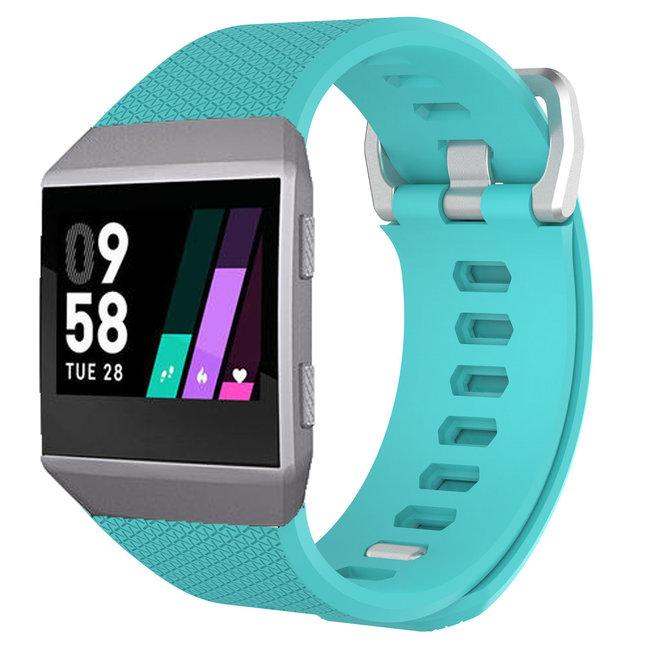 Merk 123watches Fitbit Ionic sport band - blauw