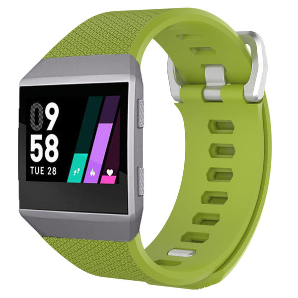 123Watches.nl Fitbit Ionic sport band - groen