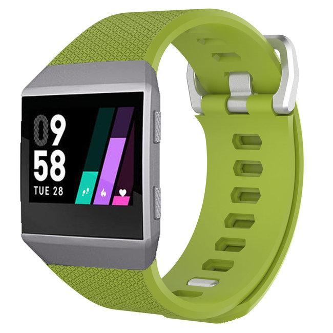 Merk 123watches Fitbit Ionic sport band - groen
