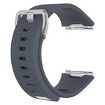 123Watches.nl Fitbit Ionic sport band - dunkelgrau