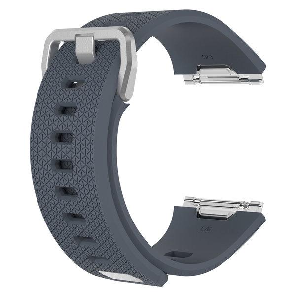 123Watches.nl Fitbit Ionic sport sangle - gris foncé
