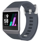 123Watches.nl Fitbit Ionic sport band - donkergrijs
