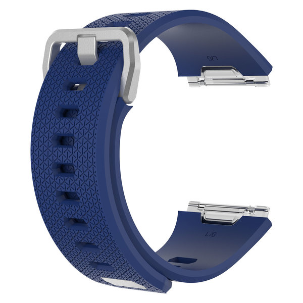 123Watches.nl Fitbit Ionic sport sangle - bleu foncé