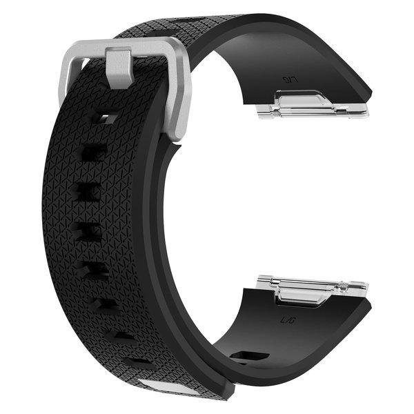 123Watches Fitbit Ionic sport sangle - noir