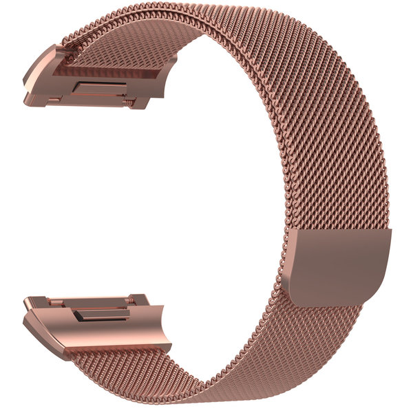 123Watches.nl Fitbit Ionic milanese band - rose