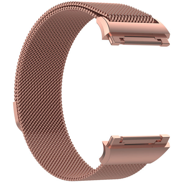 123Watches Fitbit Ionic milanese band - pink