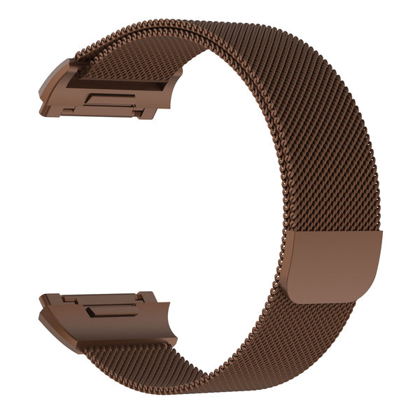 123Watches.nl Fitbit Ionic milanese band - brown