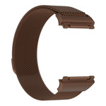 123Watches.nl Fitbit Ionic milanese band - bruin