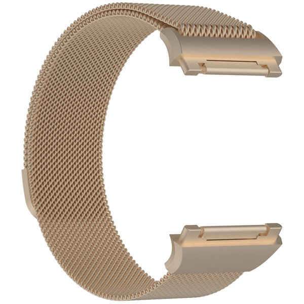 123Watches Fitbit Ionic milanese band - champagne